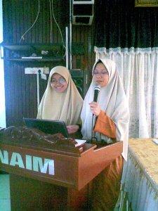 saya dan adah at Naim Lilbanat